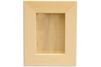 Cadre photo en bois avec vitre - 32 x 26 cm - Cadres photos - 10doigts.fr