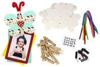 Papillons magnet pense-bête - Lot de 12 - Kits Supports et décorations - 10doigts.fr