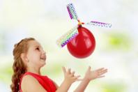 Ballons hélicoptères à personnaliser - 6 pièces - Ballons, guirlandes, serpentins - 10doigts.fr