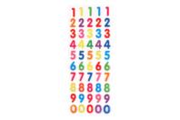 Stickers chiffres en epoxy - Décorations Anniversaire - 10doigts.fr