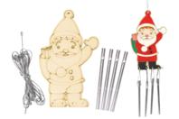 Carillon Père Noël - Carillons et Mobiles - 10doigts.fr