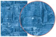 Papier Décopatch Jeans - 3 feuilles  N°381 - Papiers Décopatch - 10doigts.fr