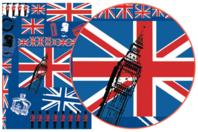 Papier Décopatch British - 3 feuilles  N°530 - Décorations Voyages - 10doigts.fr