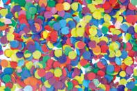 Confettis multicolores - Set de 300 gr - Ballons, guirlandes, serpentins - 10doigts.fr