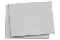 Panneaux en carton gris épais - 40 x 50 cm - Plaques et panneaux - 10doigts.fr