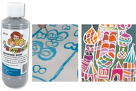 Liquide à masquer - Drawing gum - Encres liquides - 10doigts.fr