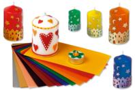 Plaques de cire - Set de 10 couleurs - Colorants, parfums, accessoires - 10doigts.fr