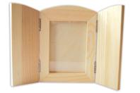Cadre pliable en bois avec vitre - Cadres photos - 10doigts.fr