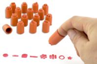 Tampons de doigts - 24 pièces - Tampons - 10doigts.fr