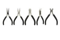Pinces pour bijoux assorties - Set de 5 - Pinces et enrouleurs - 10doigts.fr