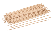 Piques à brochette en bois - Lot de 100 - Bâtonnets, tiges, languettes - 10doigts.fr
