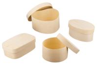 Boîtes en bois à décorer - Boîtes et coffrets - 10doigts.fr