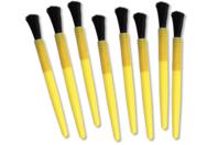 Pinceaux brosses grosse touffe - Lot de 8 - Brosses - 10doigts.fr