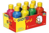 Gouaches Giotto Bé-bé - Set de 8 couleurs - Peinture gouache liquide - 10doigts.fr