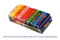 Pâtes enfantines ne durcissant pas à l'air JOVI - Pâtes à modeler non durcissantes à l'air  - 10doigts.fr