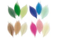 Feuilles en camaïeu de couleurs - Set de 20 - Fleurs et feuilles - 10doigts.fr
