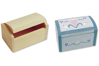 Coffret en bois - Boîtes et coffrets - 10doigts.fr