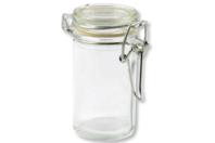 Pot à épices rond en verre - Lot de 4 - Supports pour mosaïques - 10doigts.fr