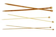 Aiguille à tricoter en Bambou - Taille au choix - Aiguilles - 10doigts.fr