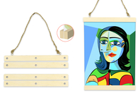 Baguettes magnétiques pour affiche - Cadres photos - 10doigts.fr