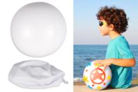 Ballon blanc à décorer - Support blanc - 10doigts.fr