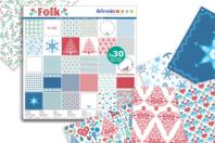 Bloc papiers de scrap Noël - 60 feuilles - Nouveautés - 10doigts.fr