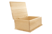 Boîte à sucres en bois naturel - Boîtes et coffrets - 10doigts.fr