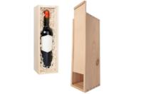 Coffret en bois pour bouteille - Boîtes et coffrets - 10doigts.fr