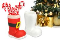 Botte de Père Noël en polystyrène - Formes de fêtes - 10doigts.fr