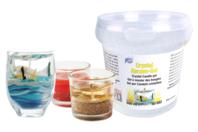 Gel cristal transparent pour bougie - 500 gr - Cires, gel  et bougies - 10doigts.fr