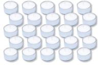 Bougies chauffe-plats - Lot de 25 - Cires, gel  et bougies - 10doigts.fr