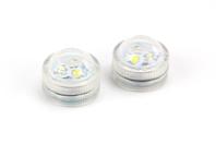 Bougies LED puissantes - Set de 2 - Cires, gel  et bougies - 10doigts.fr