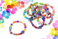 Kit fabrication bracelets Ohana - 600 perles - Kits bijoux - 10doigts.fr