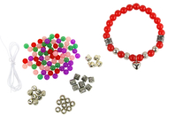 Kit bracelets cœur à fabriquer - 4 bracelets - Kits bijoux - 10doigts.fr
