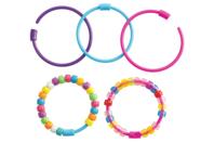 Bracelets pour perles en plastique à gros trous - Set de 24 - Bracelets - 10doigts.fr