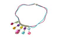 """Collier """"pierres précieuses"""" - Kit pour 1 collier - Bijoux, bracelets, colliers - 10doigts.fr"""