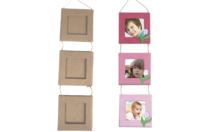 Mini cadres reliés en papier mâché - Cadres en carton - 10doigts.fr