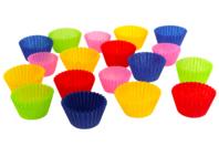 Caissettes en papier, couleurs assorties - 250 pièces - Papier alvéolé, accordéon - 10doigts.fr