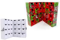 Meuble de rangement façon livre - Boîtes en carton - 10doigts.fr