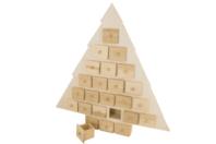 Sapin calendrier de l'Avent - Noël - 10doigts.fr