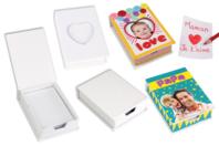 Boîte à notes à décorer - Boîtes en carton - 10doigts.fr
