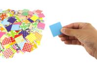 Mosaiques XXL en carte forte brillante -1000 pièces - Mosaïques en papier, carton et mousse - 10doigts.fr