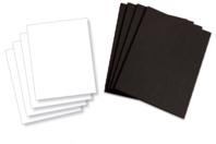Carte extra forte 380 gr/m² noir ou blanc - Carte légère ou forte - 10doigts.fr