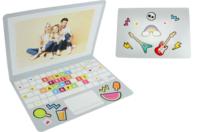 """Carte ordinateur message """"Bonne fête maman, papa"""" - Kits activités carteries - 10doigts.fr"""