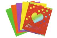 Cartes à gratter colorées - 100 cartes - Carte à gratter - 10doigts.fr