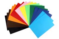 20 cartes fortes 220 gr/m² - 10 couleurs assorties - Carte légère ou forte - 10doigts.fr