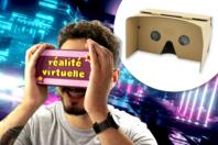 Casque de réalité virtuelle en carton - Objets pratiques du quotidien - 10doigts.fr