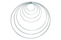 Cercle en acier pour mobiles - Supports en Métal - 10doigts.fr