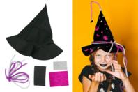 Kit chapeau de sorcière en feutrine - Halloween - 10doigts.fr