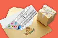 Chèque cadeau 10€ - Chèques Cadeaux - 10doigts.fr